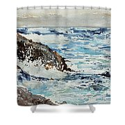 At The Rocks Shower Curtain