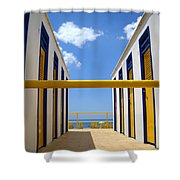 At The Seashore 2 Shower Curtain