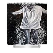 At The Shore  Shower Curtain