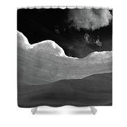 At The Slopes Shower Curtain
