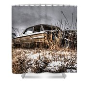 At The Top Shower Curtain