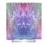 Atahensic-sky Goddess Shower Curtain
