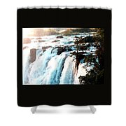 Waterfall Scene For Mia Parker - Sutcliffe L A S Shower Curtain