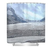 Athabasca Glacier, Jasper National Park Shower Curtain
