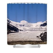 Athabasca Glacier Shower Curtain