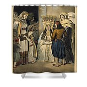 Athenian Bride Shower Curtain