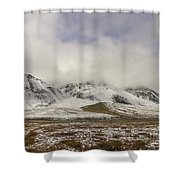 Atigun Pass Brooks Range Alaska Shower Curtain