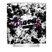 Atlanta Braves 1b Shower Curtain