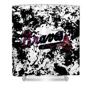 Atlanta Braves 1d Shower Curtain