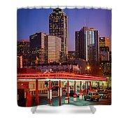 Atlanta Drive-in Shower Curtain