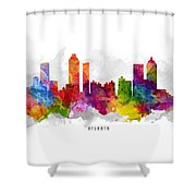 Atlanta Georgia Cityscape 13 Shower Curtain