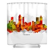 Atlanta Georgia Cityscape 15 Shower Curtain