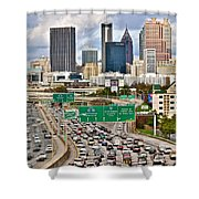Atlanta Georgia Thrives Shower Curtain