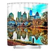 Atlanta The Great Shower Curtain