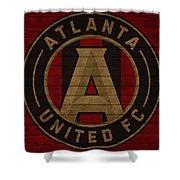 Atlanta United Barn Door Shower Curtain