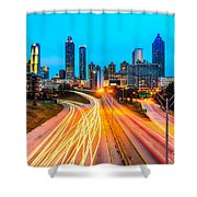 Atlanta - Usa Shower Curtain