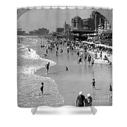 Atlantic City, 1920s Shower Curtain