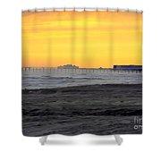 Atlantic City At Dusk Shower Curtain
