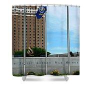 Atlantic City Series -11 Shower Curtain