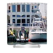 Atlantic City Series -13 Shower Curtain