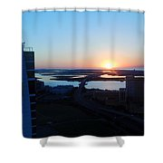 Atlantic City Series -14 Shower Curtain