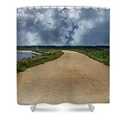 Atlantic Flyways Of New Jersey Shower Curtain