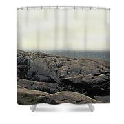 Atlantic Lighthouse Shower Curtain