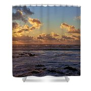 Atlantic Sunset Shower Curtain