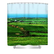 Atlantic View Doolin Ireland Shower Curtain