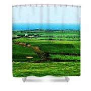 Atlantic View Doolin Ireland Shower Curtain