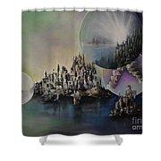 Atlantis Resurrected Shower Curtain