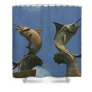 Atlantis Swordfish Shower Curtain