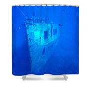 Atlantis Wreck Shower Curtain