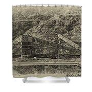 Atlas Coal Mine Shower Curtain