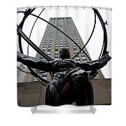 Atlas New York City Shower Curtain