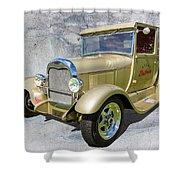 Atlas Pickup V2 Shower Curtain