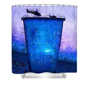 Atomic Ant - Pa Shower Curtain