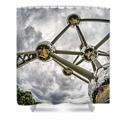Atomium 3 Shower Curtain