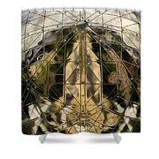 Atomium 5 Shower Curtain