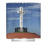 Atop Mt Soledad Shower Curtain
