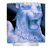Attack Of The Gryphon Shower Curtain