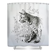 Attila Shower Curtain