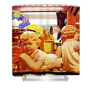 Attitude Baby Shower Curtain