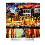 Attractive Corsica Shower Curtain