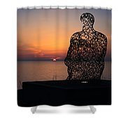 Atwater Park Spillover II Shower Curtain