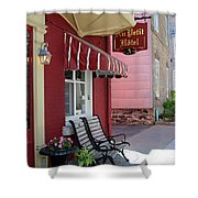 Au Petit Hotel Quebec City  6525 Shower Curtain