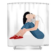Aubrey Shower Curtain by Nancy Levan