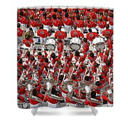 Auburn College Band Shower Curtain