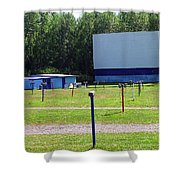 Auburn Ny - Drive-in Theater 3 Shower Curtain