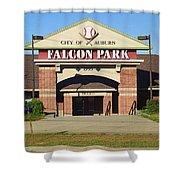 Auburn, Ny - Falcon Park Shower Curtain